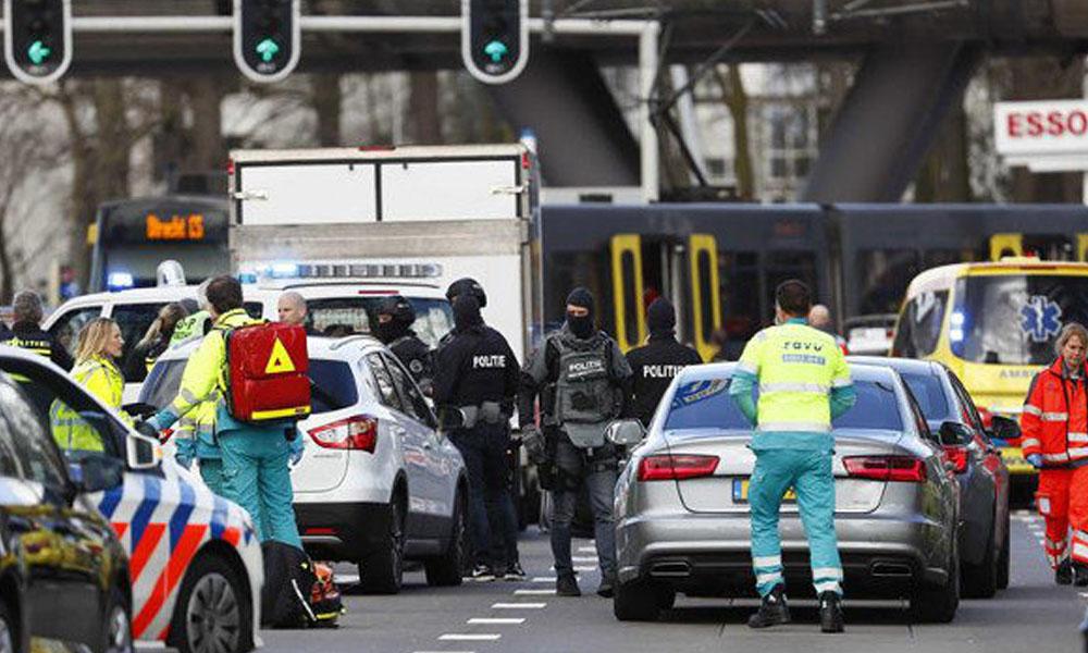 Tiroteo en ciudad holandesa de Utrecht deja varios heridos