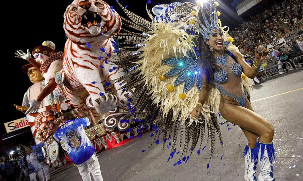 Brasil calienta motores para el carnaval a ritmo de samba. Foto://lamojadahd