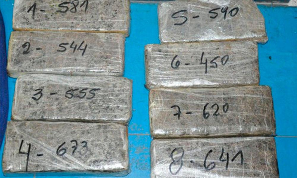 Marihuana fue detectada tras captura de 30 kilos de cocaína. //paraguay.com