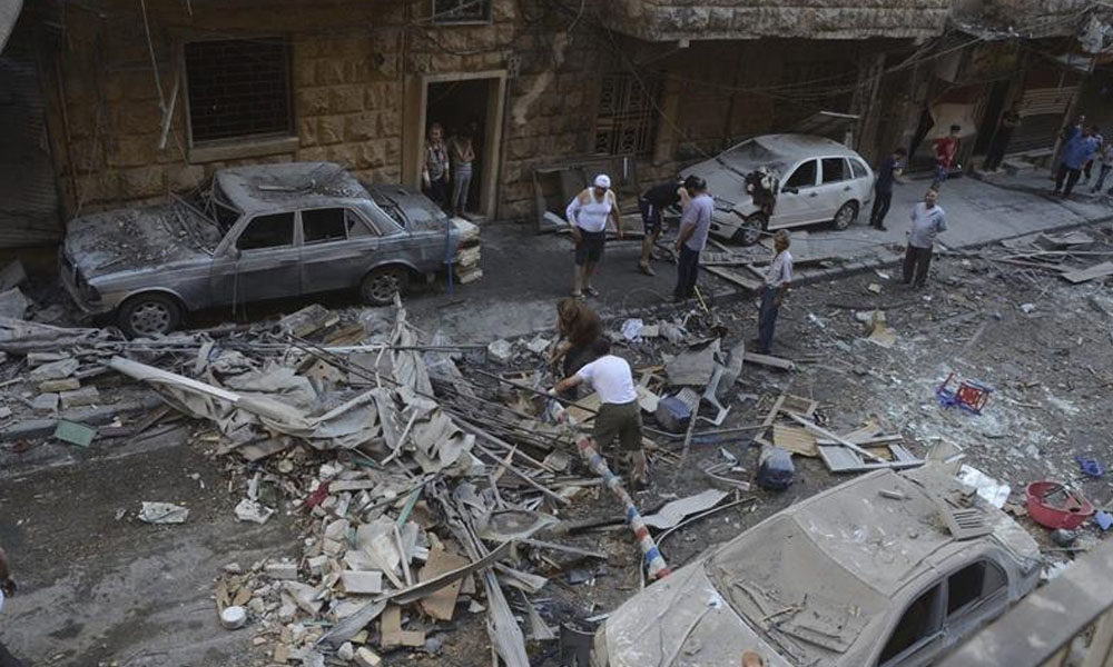 La ONU insiste en que, como mínimo, hacen falta treguas de 48 horas en Alepo. //publico.es