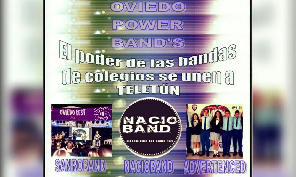 Oviedo Power Band's será este viernes 4 de noviembre a aprtir de als 10:00 horas en la Casa de la Cultura. //Gentileza