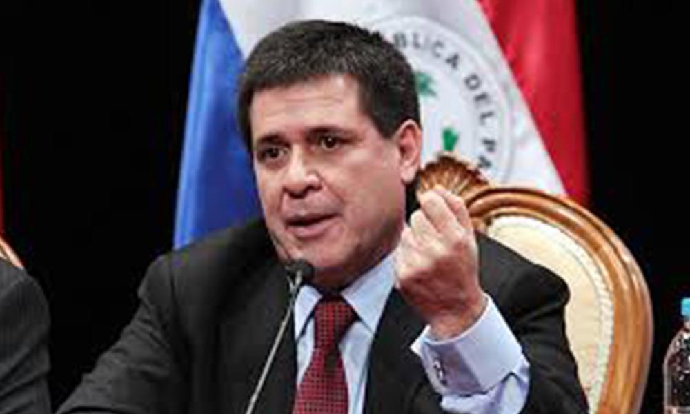 Horacio Cartes, presidente del Paraguay. Foto://radionacional.gov.py