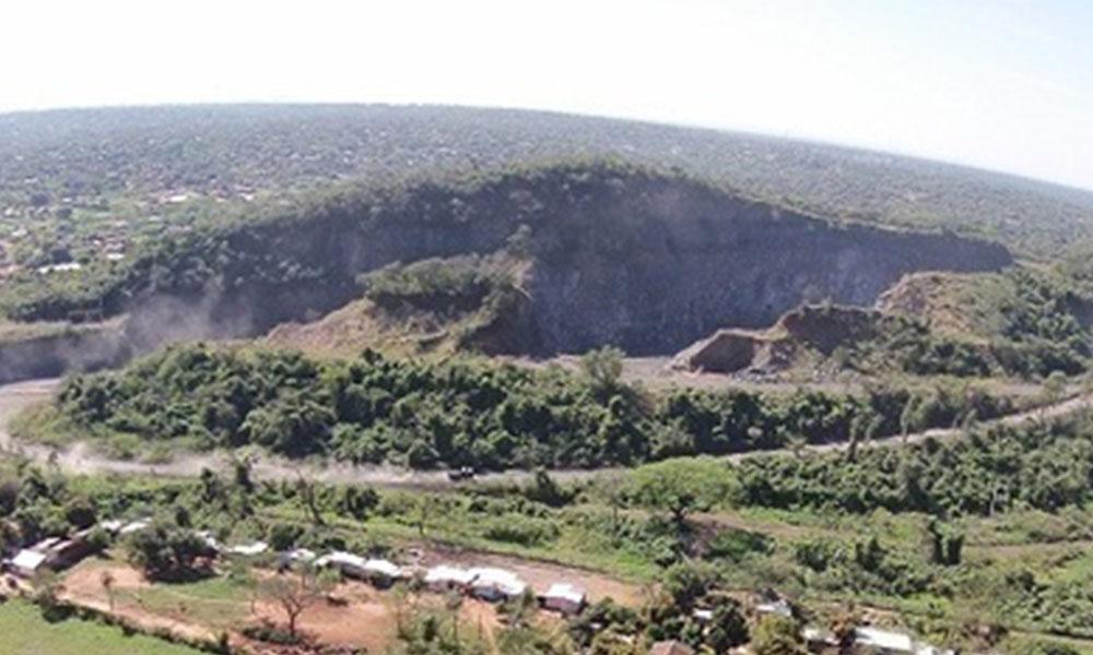 Imagen de lo que es actualmente el Cerro Ñemby. Foto://Municipalidad de Ñemby.