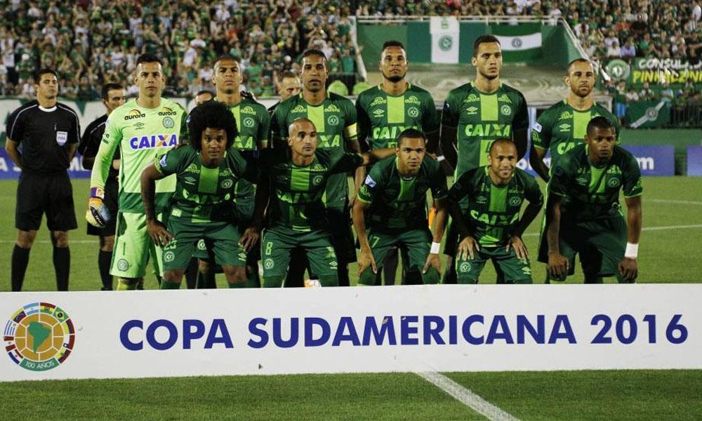 Chapecoense iba a disputar la final de la Copa Sudamericana frente a Atlético Nacional el miércoles. //ecestaticos.com