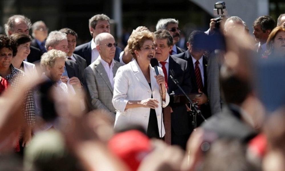 Rousseff vuelve a pedir anulación a su destitución