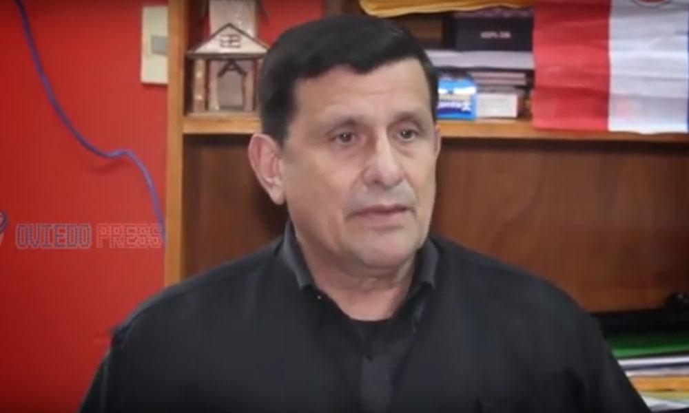 Director de la Penitenciaría de Coronel Oviedo, General en situación de retiro César Aguilar. //Captura de vídeo - OviedoPress - Youtube
