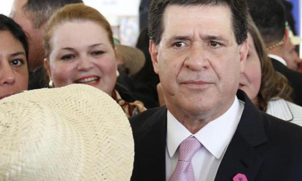 El presidente de Paraguay, Horacio Cartes. EFE/Archivo