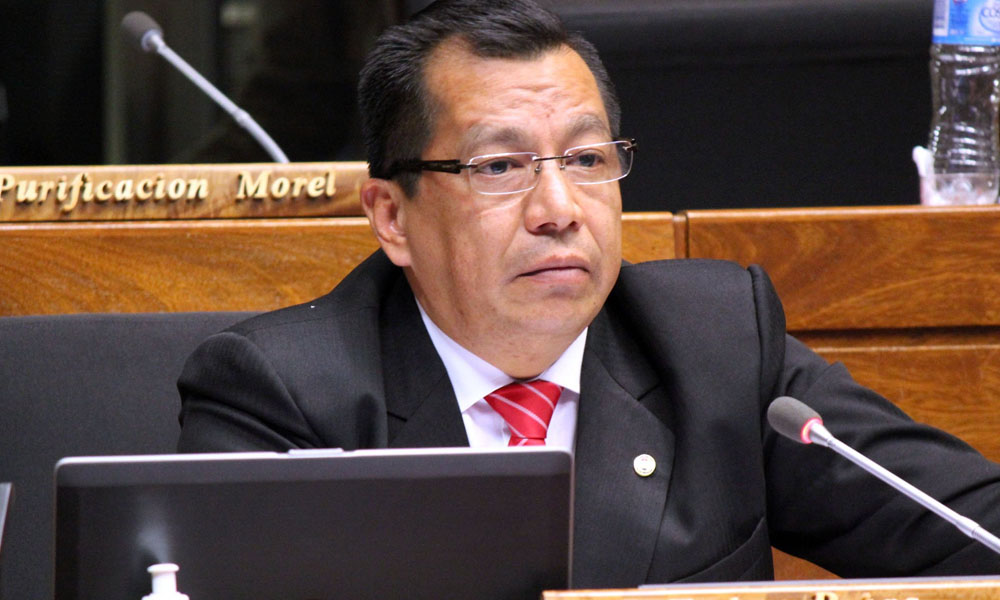 Diputado Tadeo Rojas, nuevo ministro del Interior. //Twitter - Cámara de Diputados