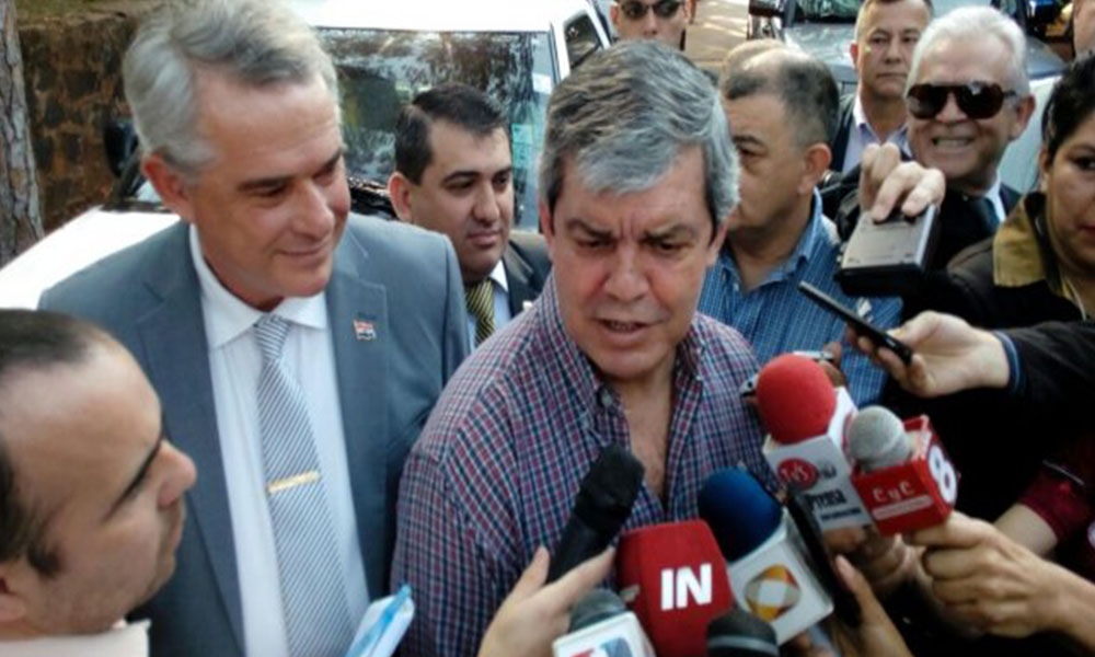 Enrique Riera habla de más dinero para educación. Foto://Raul Cortese