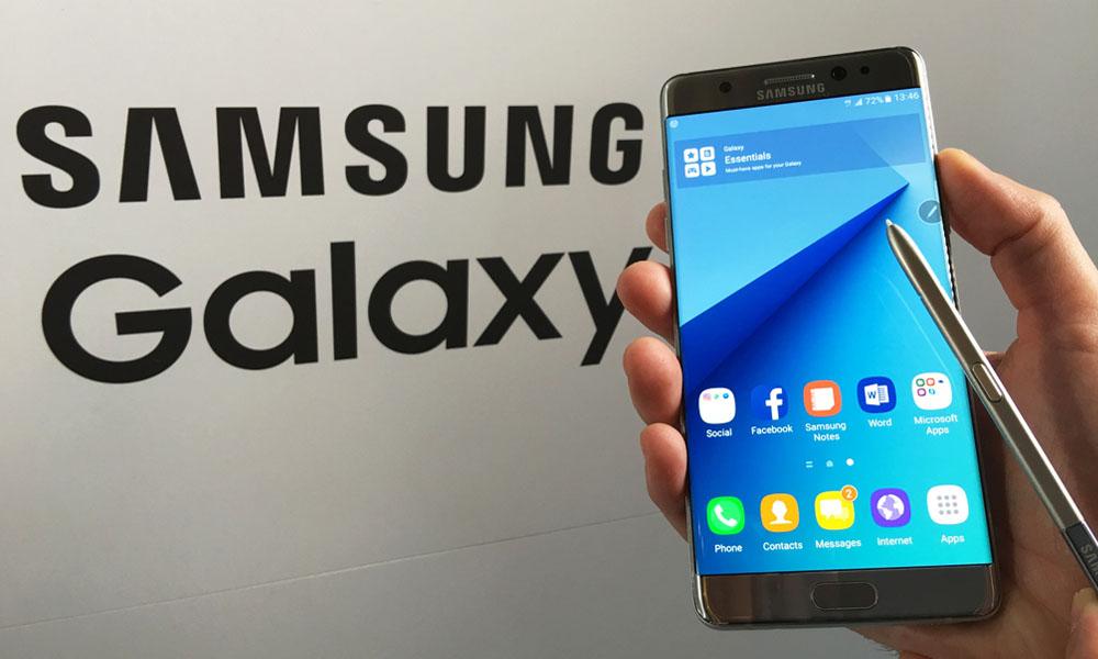 En octubre el Samsung Galaxy Note 7 volverá a la venta