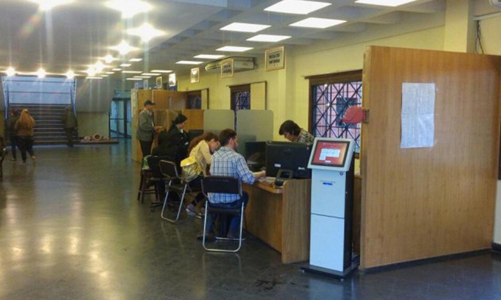 La sede del Rectorado del Campus de San Lorenzo se encuentra habilitada. Foto://Ultimahora.com.py.