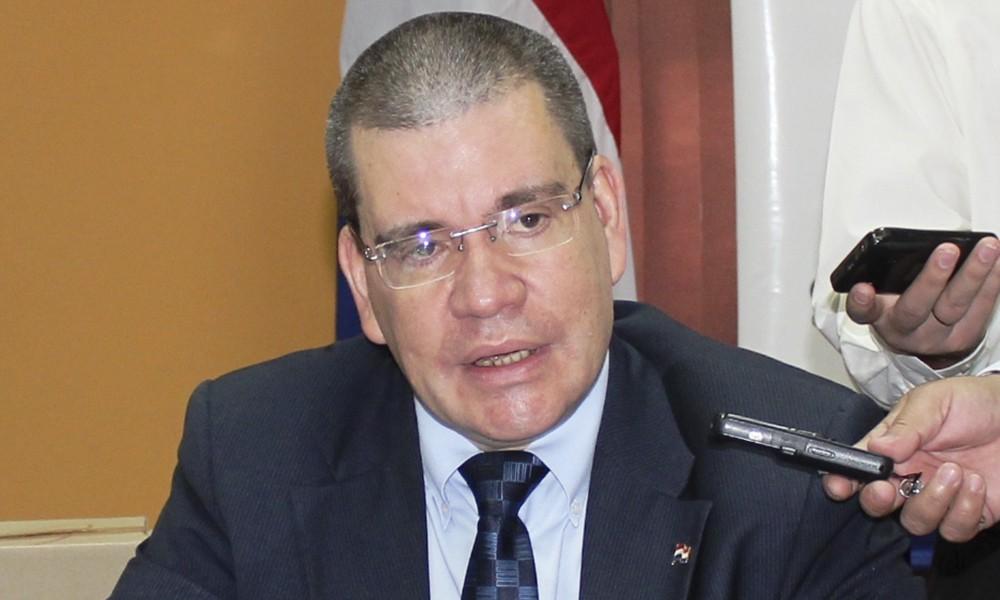 El ministro de Salud, Antonio Barrios. Foto://@msaludpy