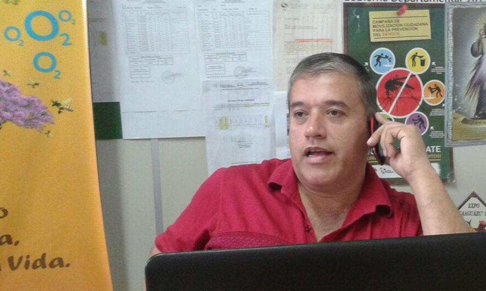 Gustavo Molinas, Secretario de Medio  Ambiente del Gobierno Departamental. //OviedoPress