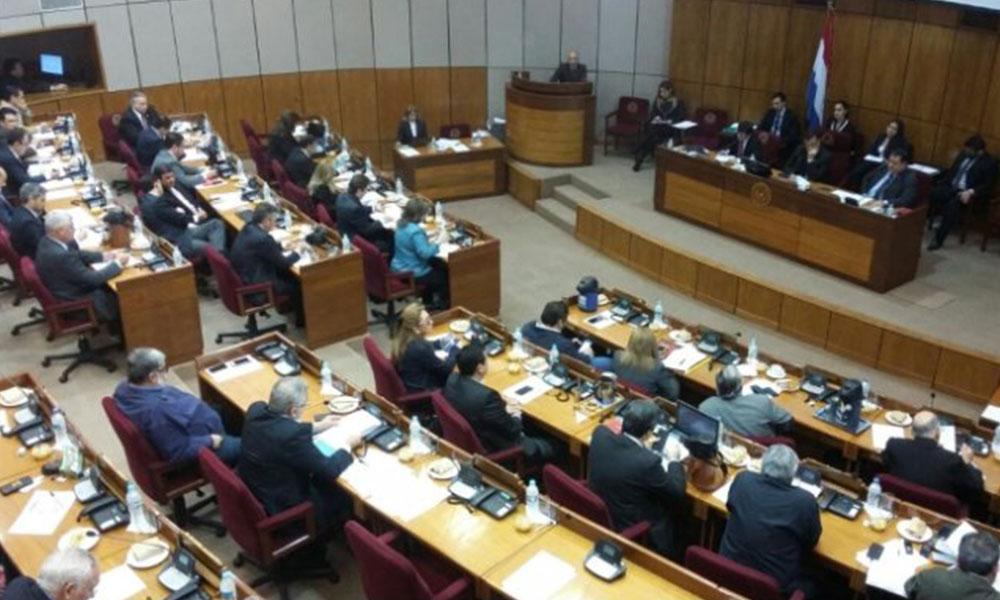 La Cámara de Senadores. Foto://Ultimahora.com.py.