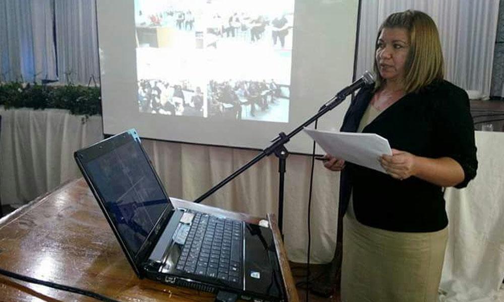 Supervisora Pedagógica de Educación, Lic. Perla Arguello. //Facebook - Perla Arguello