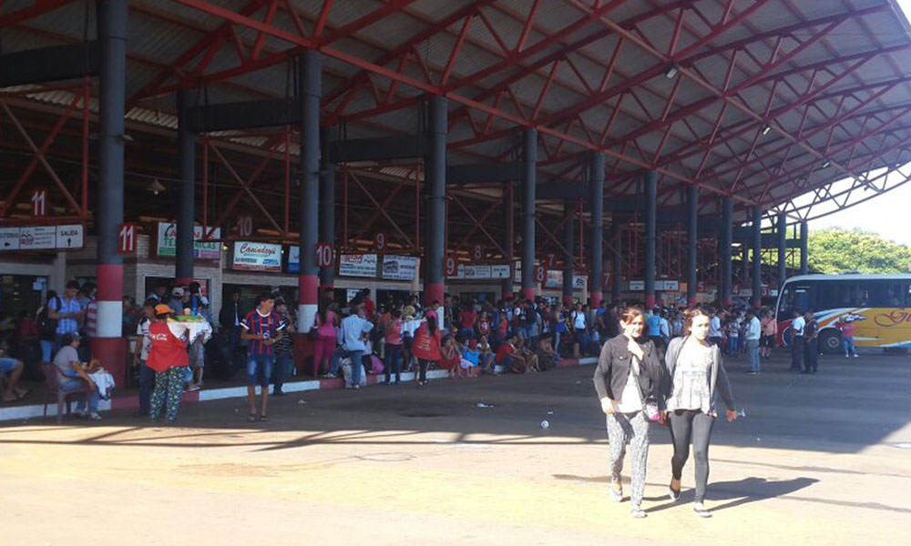Terminal de Ómnibus de Coronel Oviedo. Foto://OviedoPress
