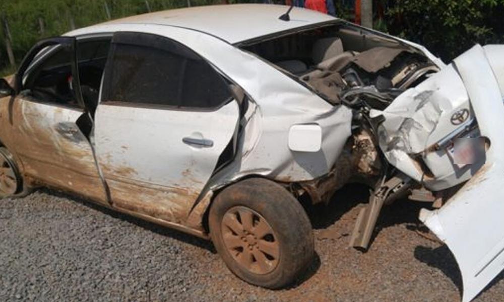 Accidente de tránsito se cobró una joven vida en Yhú