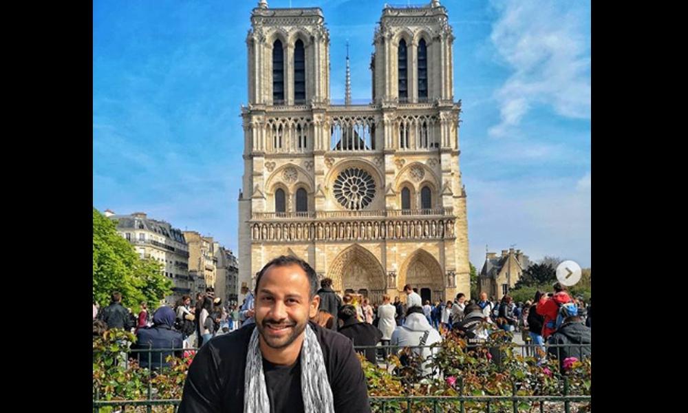 Paraguayos visitaron la catedral de Notre Dame minutos antes del incendio