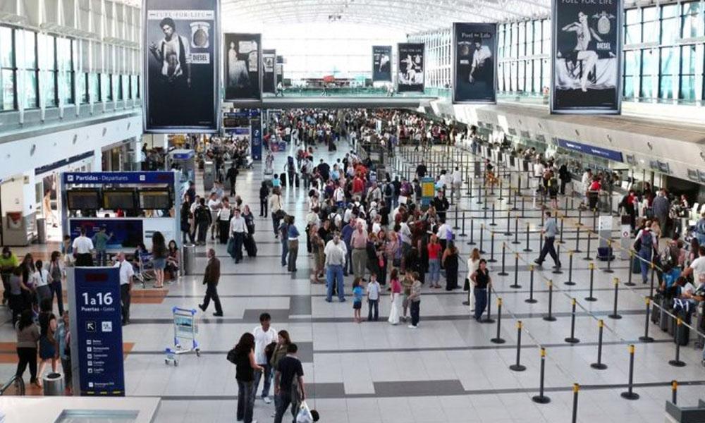 Instalaciones del Aeropuerto de Ezeiza. //Infobae.com