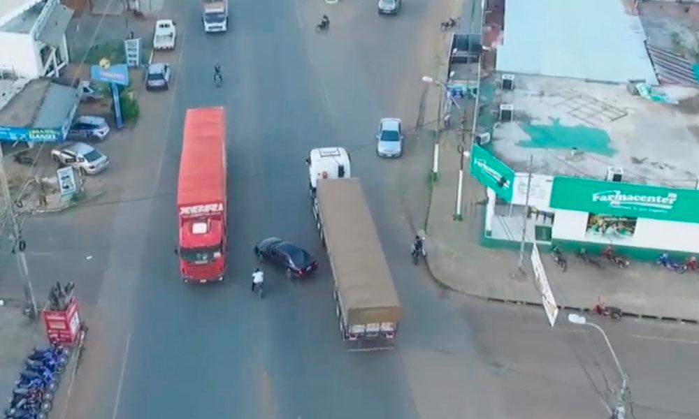 Exigen que Dirección Municipal de Tránsito resuelva peligroso cruce