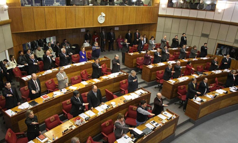La Cámara de Senadores. //launion.com.py