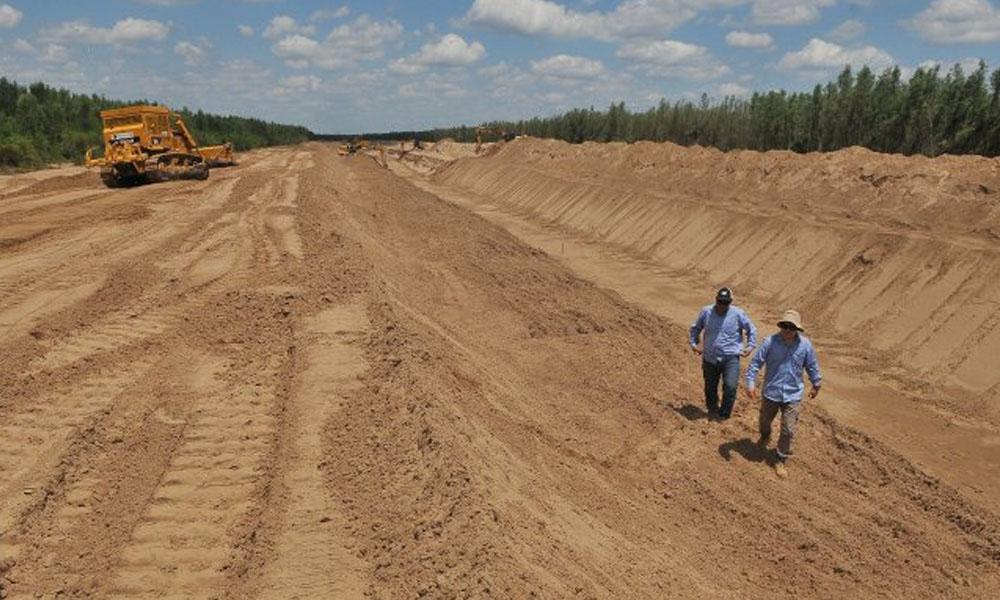 El río Pilcomayo sufrió una sequía este año en el lado paraguayo. //UltimaHora.com