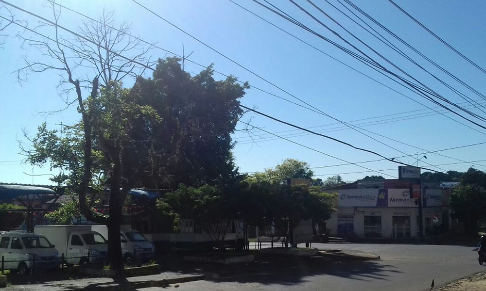 La máxima estimada para Coronel Oviedo es de 30ºC. //OviedoPress