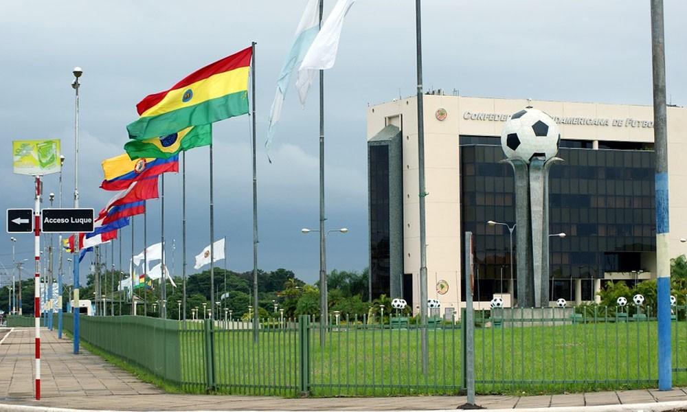 Sede de la Conmebol en Paraguay. //teleamazonas.com