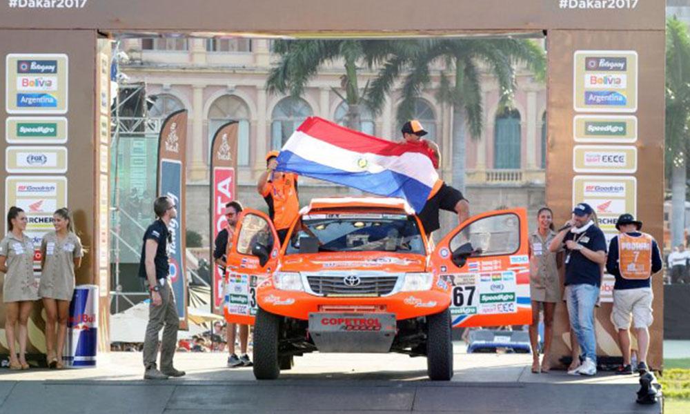 Para todo el mundo. Más de 190 países y unos 1.500 millones de personas de todo el mundo observaron por televisión la largada del Dakar 2017. Foto://Ultimahora.com