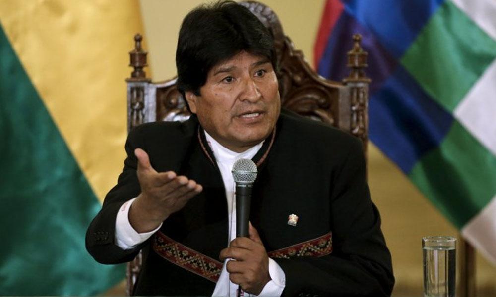 Presidente de Bolivia, Evo Morales. //infobae.com