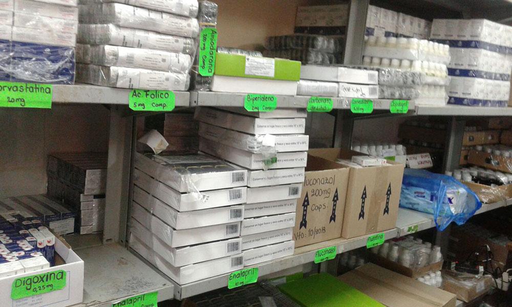 En la Farmacia Social del Hospital Regional de Coronel Oviedo se recepciona unas 1.500 pedidos de recetas médicas al día. //OviedoPress