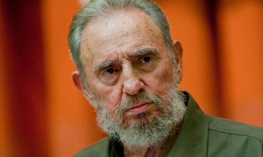 Fidel Castro, líder cubano. Foto://globovision.com