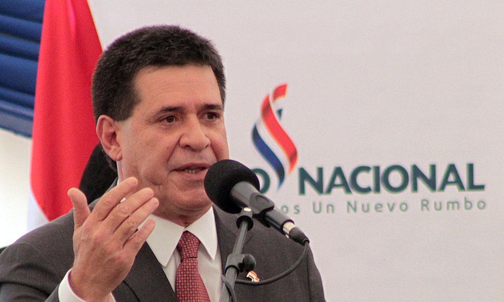 Horacio Cartes. //Adndigital.com.py