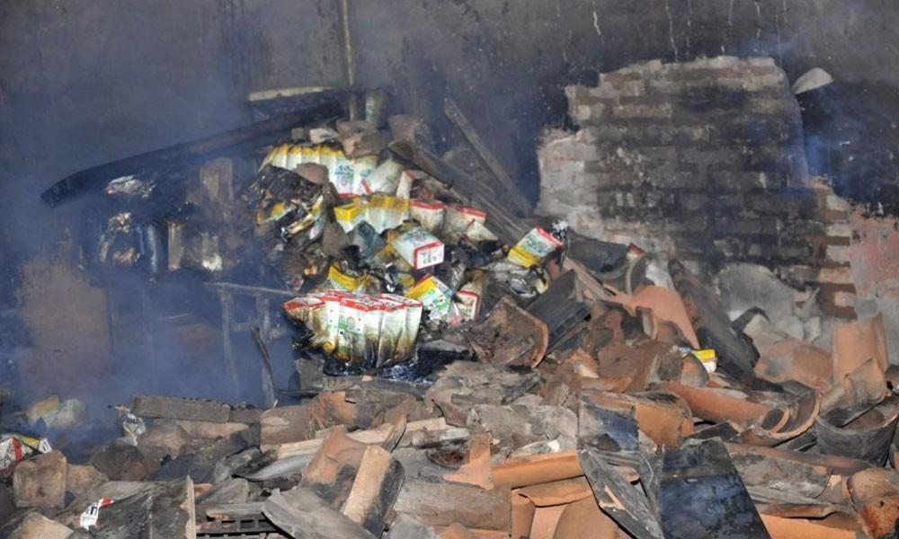 Se incendió una escuela en Mariano Roque Alonso