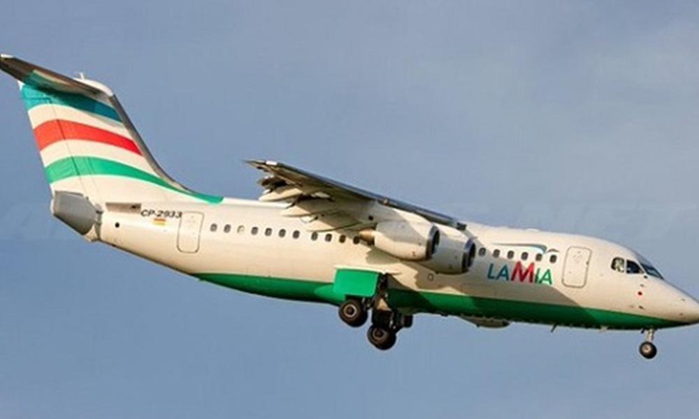 Aeronave de la firma Lamia. Foto://airliners.net.