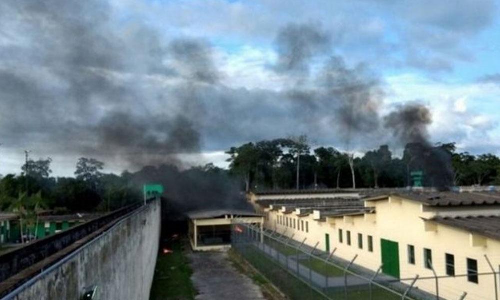 El violento motín terminó con 56 muertos en una cárcel brasileña. Foto://laprensa