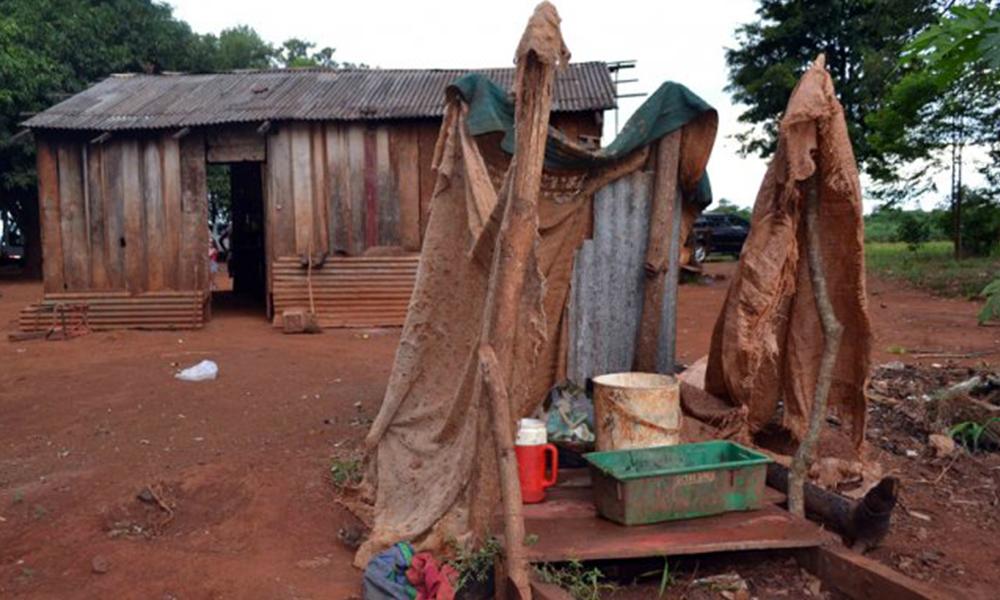 La pobreza extrema afecta a más de 600.000 personas en Paraguay. Foto://Ultimahora.com.py.
