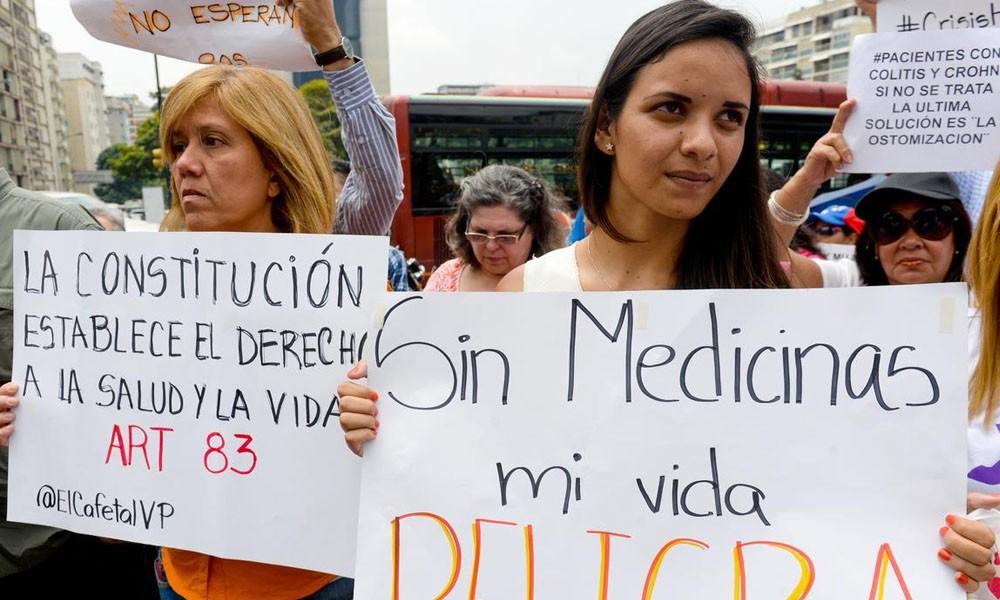 Escasez de medicamentos, alarmante situación sanitaria en Venezuela