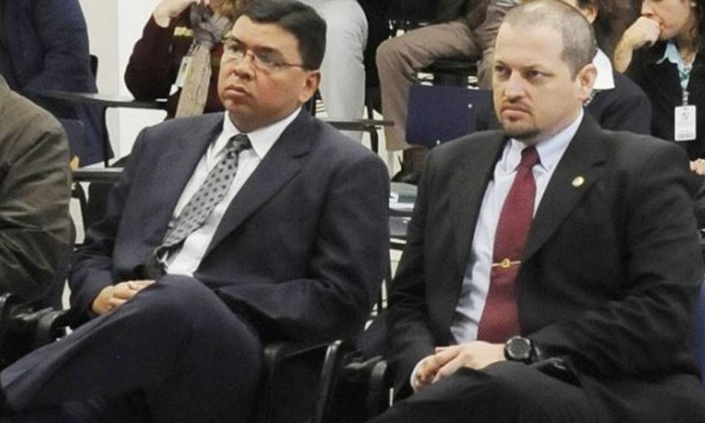 Francisco De Vargas y Luis Rojas. //Abc.com.py - Archivo