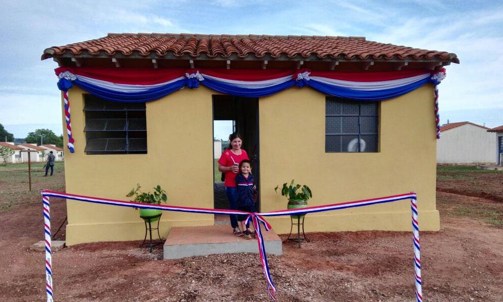 Inauguran 1.000 viviendas en el Departamento de Caaguazú