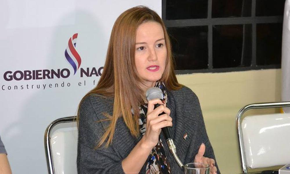La titular de Senavitat, Soledad Núñez. //adndigital.com.py