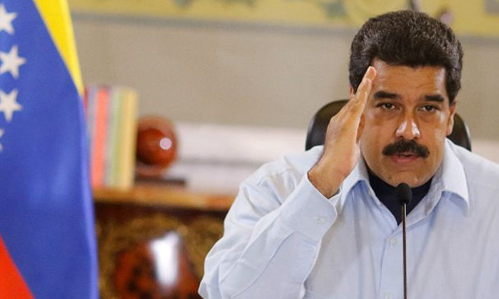 Presidente de Venezuela, Nicolás Maduro. //emancipacionobrera.blogspot.com