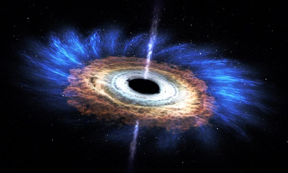 Científicos podrían presentar primera imagen real de un agujero negro