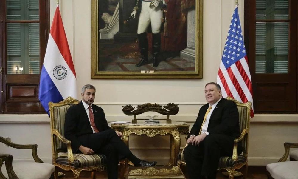 Mario Abdo se reunió en Palacio con el secretario de EE.UU.