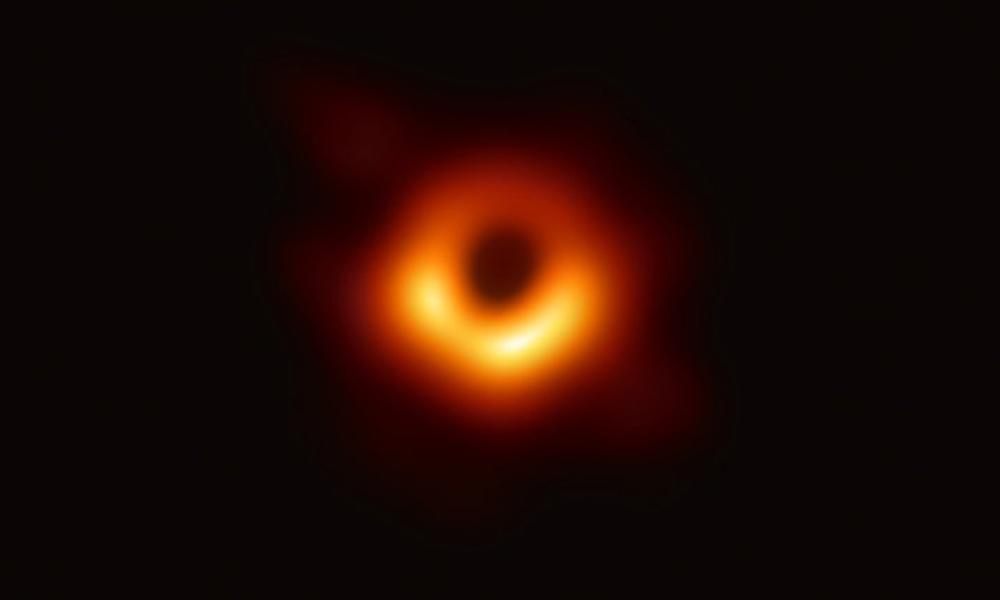 La primera foto de un agujero negro