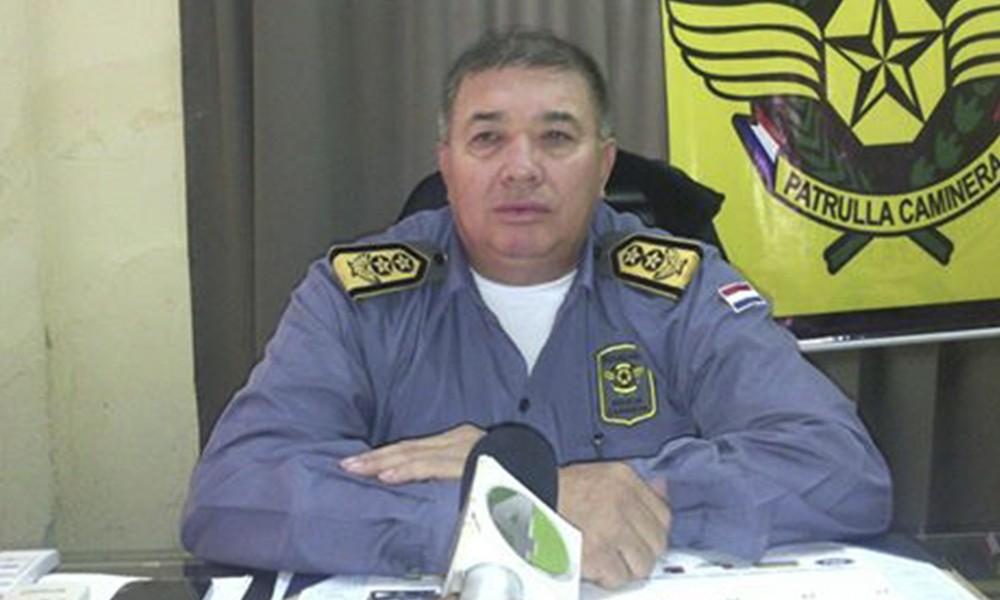 Tras bochorno en Patrulla Caminera designan a nuevo jefe regional