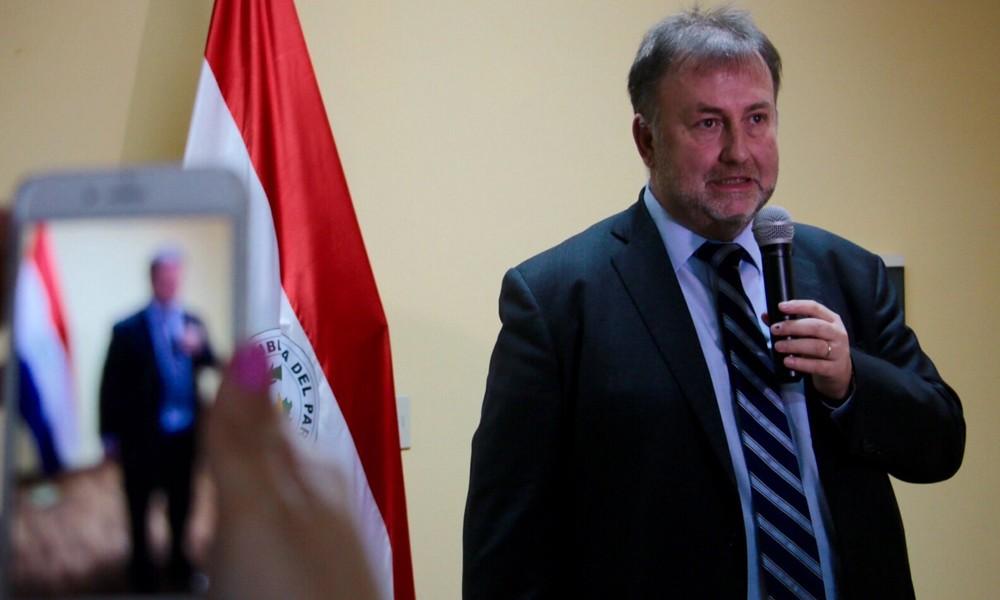 Benigno López, presidente del IPS. //ip.gov.py.