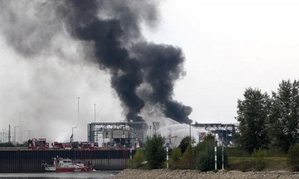 Alemania: Explosión en una planta química dejó varios heridos