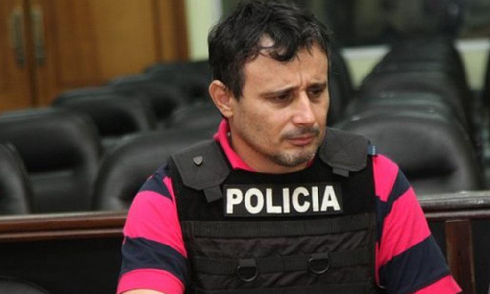 Vilmar Acosta, sindicado como autor intelectual del asesinato del periodista y su asistente. Foto://Ultimahora.com