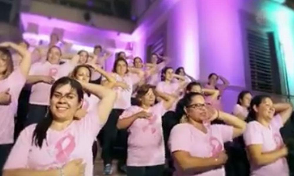 Que el cáncer de mama no te toque, hacete el autoexamen